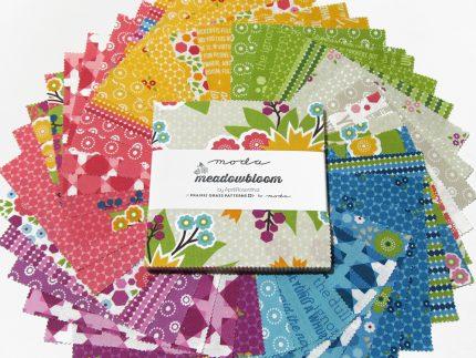 moda fabrics Meadowbloom