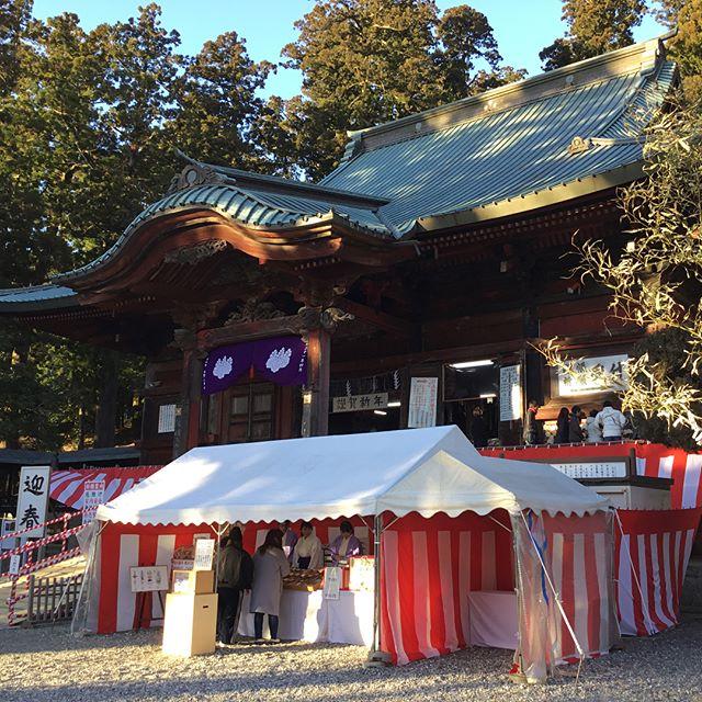 清澄寺へ初詣