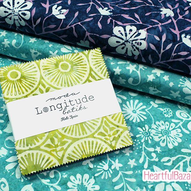 Longitude batiksシリーズ販売開始しました